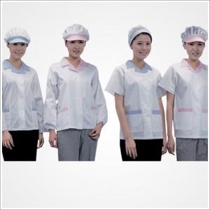 여식당배색유니폼