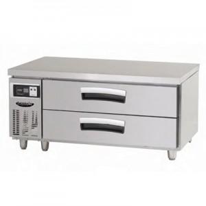 낮은서랍식테이블 냉장고(기본핸들) (LCBD-1224RG)