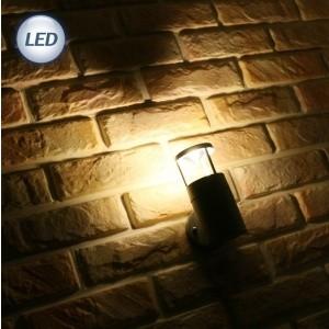 9263 외부원통 MR 반사 벽1등 (LED MR16 220V전용) (그레이/블랙)