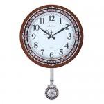 월넛원형 보석추시계AP-593 (벽걸이시계)