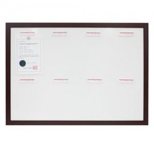인조목 슬립 게시판 A4 WSL-V8 세로형