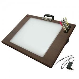 LED BB 라이트박스(4절)집게형 애니메이션 만화 디자인보드 그래픽 일러스트