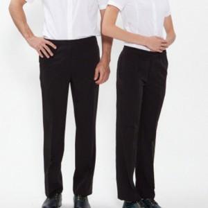 남녀공용 밴드형 단색 바지 /블랙(P-101)