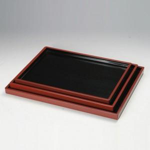 직각쟁반 (흑색)