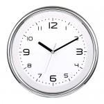 라운드투시 크롬벽시계