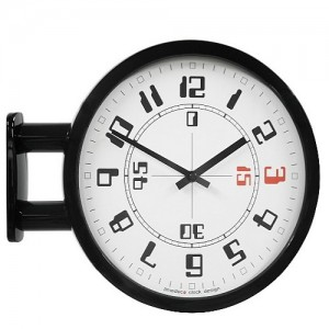 Morden Double Clock A4(BK)