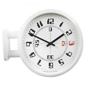 Morden Double Clock A4(WH)