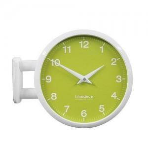 Morden Double Clock 모노 파스텔(Green)