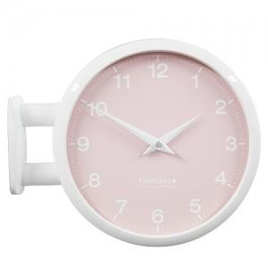 Morden Double Clock 모노 파스텔(Pink)
