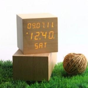 LED 나무 탁상시계 정사각형(대)가격:39,350원