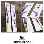 림피드와이드벽시계[RHW010] - 시계+스틱