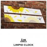 림피드와이드벽시계[RHW013] - 시계+스틱