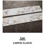 림피드와이드벽시계[RHW008] - 시계+스틱
