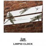 림피드와이드벽시계[RHW005] - 시계+스틱