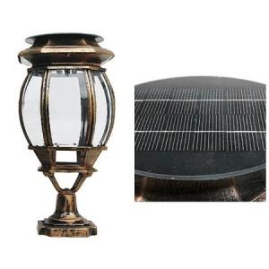 4907 LED 태양광 정원등 중형[문주등/벽등, 1와트/2와트]