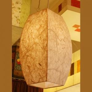 [한지등] 모던팬던트[삼베]-대각선 사이즈