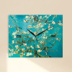 고흐 - 꽃 피는 아몬드나무 (명화인테리어시계)