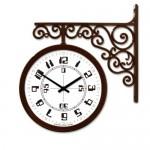 숫자 양면시계[TD-A3 화이트/브라운 색상선택]