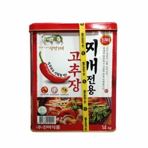 진미 찌개전용 고추장 14kg