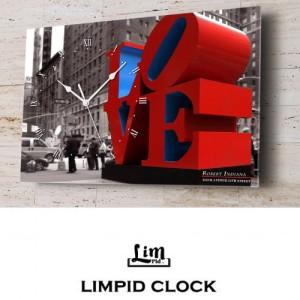 림피드벽시계[NYC-014]