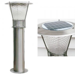 LED 태양광 정원등 [스텐레스 잔디등 SL-4634 선택-60CM/100CM]
