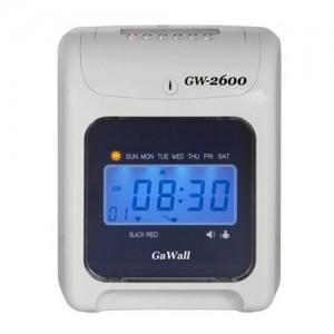 [디지털 출퇴근기록기 GW-2600]