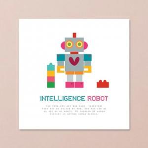 큐트로봇01 (어린이액자)