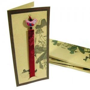 꽃자수 책갈피[카드형식]가격:13,000원