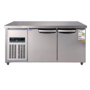 우성 테이블냉동냉장고 CWSM-150RFT(디지털) 냉동1/2 냉장1/2