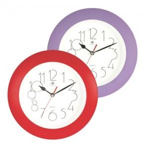 원형칼라벽시계(벽걸이시계)
