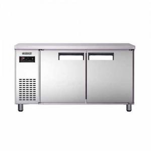 유니크 대성 에버젠 테이블냉장고 UDS-15RFTDR-SV 간냉식 (디지털/올스텐/냉장ㆍ냉동겸용)