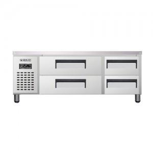 유니크 대성 에버젠 낮은 서랍형 냉장고 UDS-15DDR2 직냉식 (디지털/냉장전용)