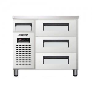 유니크 대성 에버젠 높은 서랍형 냉장고 UDS-9DDR3-D 직냉식 (디지털/냉장전용)