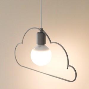 [바이빔] LED 구름1등 펜던트 - 2color