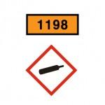 유엔번호,유해그림문자,이동탱크저장소의 위험성 경고표지,인화성액체,화기엄금표지,이동저장탱크