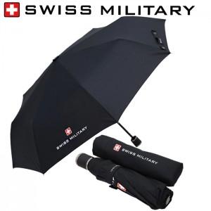 스위스밀리터리 3단수동 무지우산