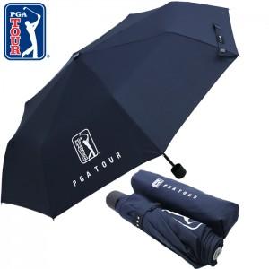 PGA 3단수동 네이비무지우산