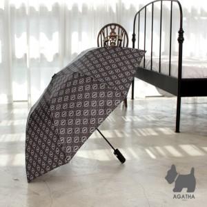[2단우산][아가타] 써클로고 2단 자동우산