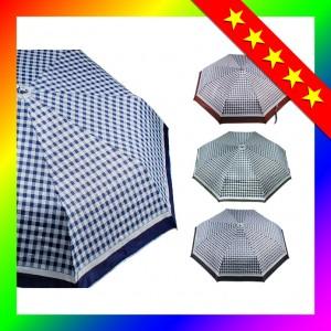 [3단우산]3단우산-체크실버