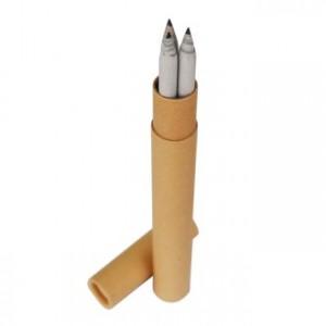 신문지 지우개 연필 3본입세트(재생)