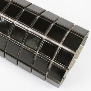 자기질모자이크타일 블랙유광 25mm (1박스=22장)