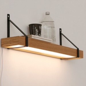 [LED] 플라잉 벽걸이 선반 인테리어 조명