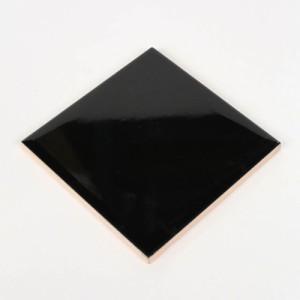 단색엣지타일 정사각평면 블랙유광 (1박스=152장)