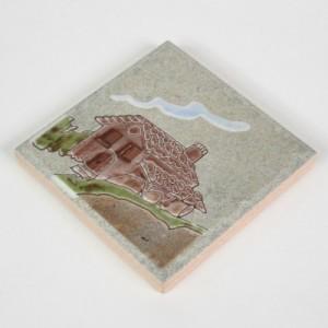 포인트그림타일 100각-농장시리즈 집 (박스10장)