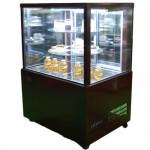 제과 쇼케이스 900x700x1270 사각 회전형(뒷문) 브라운/블랙/화이트