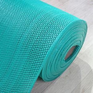 고무매트/웨이브매트-초록(두께4.5mm*길이15M)/맘보매트/바닥매트/미끄럼방지매트