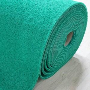 미끄럼방지매트 쿠션코일 초록(120cm*14T*18M)롤단위