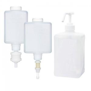 디스펜서용 전용 용기 및 펌프