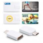 [USB (카드형)]이지스-COU1 8GB 카드형 OTG USB메모리