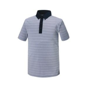 펀칭 스트라이프 티셔츠